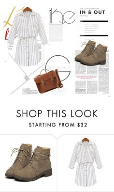 """""""shein style"""" by sheinside on Polyvore featuring The Cambridge Satchel Company"""
