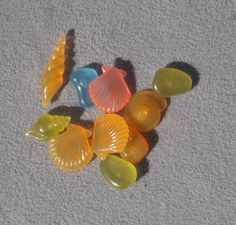 Fairy Garden Glowing Pebbles  Ocean Mix  Pack by tribeofthefaefolk