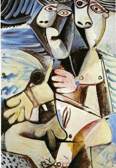 Embrace, 1971, Pablo Picasso