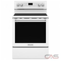 KitchenAid 30 Inch Electric Range with 5 Elements, cu. Oven Capacity, Even-Heat True Convection, AquaLift Self-Cleaning and Storage Drawer, in White Four A Convection, Convection Cooking, Cleaning Oven Racks, Self Cleaning Ovens, Kitchenaid, Food Temperatures, Innovative Systems, Single Oven, Electric Oven
