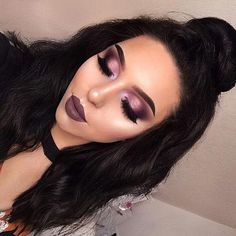 Eye makeup can take your makeup game to another level. It's either make it or break it when it comes Full Face Makeup, Lip Makeup, Beauty Makeup, Brown Eyeshadow, Eyeshadow Looks, Makeup Inspo, Makeup Inspiration, Makeup Ideas, Lime Crime Venus Palette