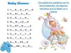 Baby Shawer, Baby Shower Games, In Spanish, Safari, Angeles, Events,  Christening, Game, Activities