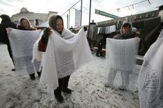 """Orenburg shawls: a classic of Russian folk art """"'Orenburg goats is the finest in the world – 14-16 micrometres. Angora goat (mohair) down by comparison, has a thickness of 22-24 micrometres. This is a statistic we Orenburgers are very proud of.'"""""""