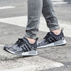 "a051b054 adidas Originals NMD R1 ""White Noise Running Shoes Nike, Nike Free Shoes,  Nike"