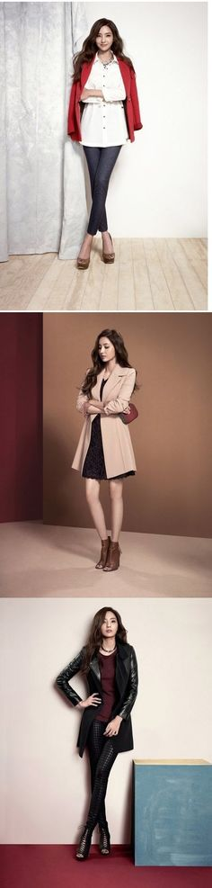 Han Chae Young readies herself for fall in fashionable outerwear | allkpop.com