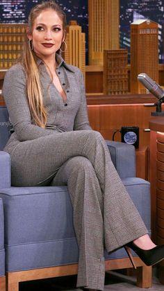 Jennifer Lopez Rocks Embellished Couture Leggings Like a Queen Jennifer Lopez Outfits, Jennifer Lopez Photos, Jennifer Looez, Business Outfits, Office Outfits, J Lo Fashion, Womens Fashion, Lolita Fashion, Fashion Boots