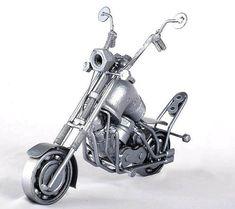 Chopper  Metal Art Everywhere Free Shipping by MetalDiorama