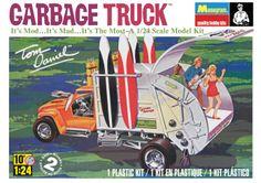 Monogram® Tom Daniel's Garbage Truck Plastic Model Kit 1/24 scale. #85-4198