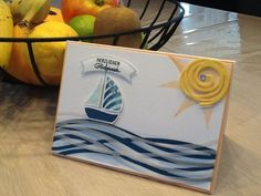 Stampin' Up! Swirly Bird, scribbles