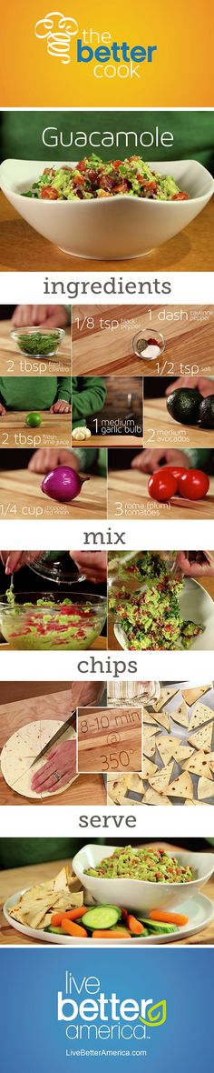 Healthified Garlic Guacamole #HowTo