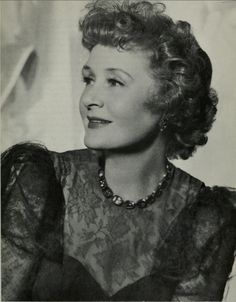 Onetime Ziegfeld Girl Billie Burke famous for being THE GOOD WITCH in The Wizard of Oz  and once married to Flo Ziegfeld was loved for her trademark giggle. If you like comedies. I recommend Topper w/Cary Grant & Billie or any of her movies.