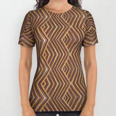 Earth Art: ZigZag All Over Print Shirt