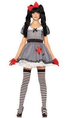 Wind-Me-Up Dolly Doll Costume