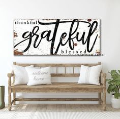 Dining Room Wall Decor, Rustic Farmhouse Decor, Modern Farmhouse, Kitchen Decor, Modern Rustic, Country Decor, Entryway Decor, Living Room Modern, Wood Signs