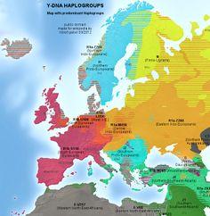 Light Hair and Light Eyes Maps of Europe