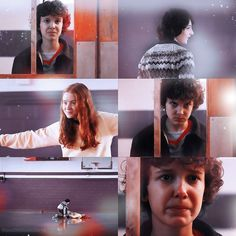 Mike Wheeler, Eleven / Jane Ives, and Max Hargrove   Stranger Things 2