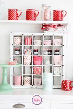 Enamorados de los capacillos para cupcake!  Una hermosa idea para decorar eventos :)
