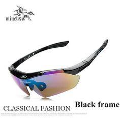 476ce5087fe5 Eyewear windproof mirror outside sunglasses male Women polarized sunglasses  myopia sunglasses mirror-in Sunglasses from Men's Clothing & Accessories on  ...