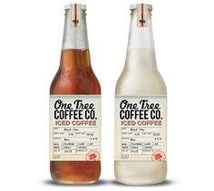 コーヒーのボトルのラベル。わかりやすくて良いね。(via Boheem Design)