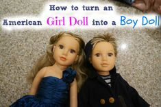 Turn an American Girl Doll into a Boy                                                                                                                                                                                 More