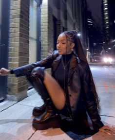 Black Girl Magic, Black Girls, Black Women, Mode Outfits, Fashion Outfits, Bad Girl Outfits, Mode Emo, New Flame, Look Street Style