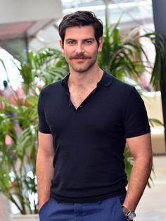 David Giuntoli moustache