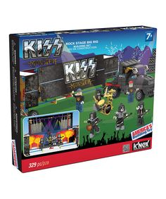 Look at this Kiss Rock Stage Big Rig Building Set on #zulily today!