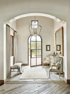 Entrance Foyer Door Entryway Arch Doorway Halls Decor Rustic
