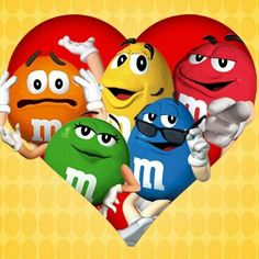 m&ms - Bing images Candy Tattoo, M Wallpaper, Heart Wallpaper, Cellphone Wallpaper, Candy Pictures, M&m Characters, M M Candy, Emoticons, I Love Chocolate