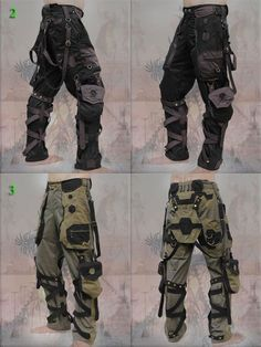 Orgone pants - neo cyber techno forest cyberpunk rave checklist hacks products tips box camping camping campers caravans trailers travel trailers Mode Cyberpunk, Cyberpunk Fashion, Tactical Pants, Tactical Clothing, Apocalyptic Fashion, Character Outfits, Black Canvas, Canvas 5, Survival Gear