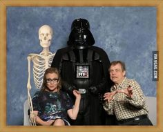 Skywalker Family Portrait With Mom