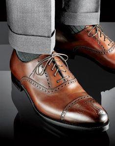Мужская обувь  Коричневые туфли Gentleman Shoes 18faeb22c68