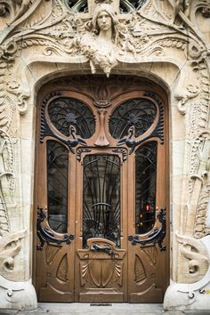 Art Nouveau, Paris, France.