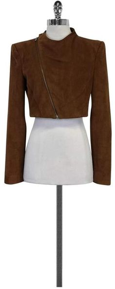 Bcbg BCBG- Brown Vegan Suede Jacket Sz S Casual Date Night Outfit, French Fashion Designers, Suede Jacket, Celebs, Vegan, Clothes For Women, My Style, Brown, Shop