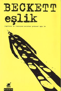 Turkish edition of Beckett's Company received from Ayrinti
