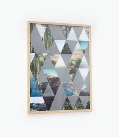 Poster à triangle