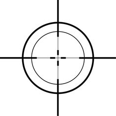 Predestination in the crosshairs. Overlays, Shooting Targets, Aesthetic Themes, Art Plastique, I Tattoo, Sleeve Tattoos, Design Elements, Graphic Art, Guns