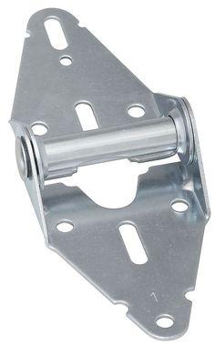National Hardware N280-156 Garage Door Hin, Galvanized, 14 ga Steel