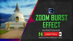 In this quick Tutorial, I will show you how you can easily create the Zoom Burst Blur Effect in Adobe Photoshop following few easy steps.