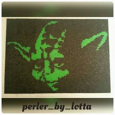 Yoda Star Wars perler beads by perler_by_lotta