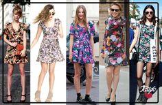 Estampado floral: el clásico para los días de verano que no te debe faltar #TattooTrend