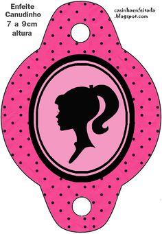 Casinha de Criança: Kit Festa da Barbie para Imprimir