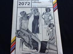 9b8ba98c5 Stretch   Sew pattern 2072. Vintage uncut 1985 misses  lingerie collection.  Bias slip