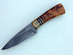Brian Chovanec Custom Knife.   Hand engraved, sole authorship