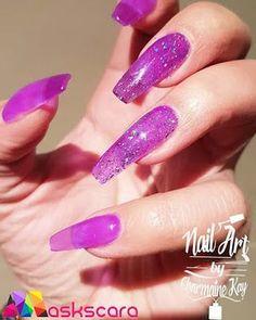 Classy Not Trashy Purple CZ Almond Shape Style Womens