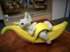 Quarry Critters Murphy Mouse, 5 inches, New from our Storeroom, Figurine