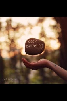 Keep deams!!!! :)