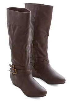 Especially Splendid Boot in Brown | Mod Retro Vintage Boots | ModCloth.com