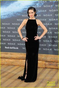 Jennifer Connelly & Douglas Booth Bring 'Noah' to Berlin, Premiere Film with Logan Lerman!