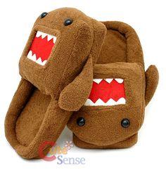 Domo-Kun slippers